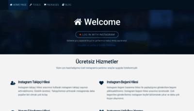 What Takipmerkezi.com.tr website looked like in 2019 (1 year ago)