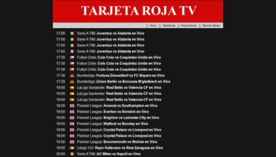 What Tarjetarojatv.biz website looked like in 2019 (1 year ago)