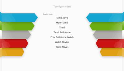 What Tamilgun.video website looked like in 2019 (1 year ago)