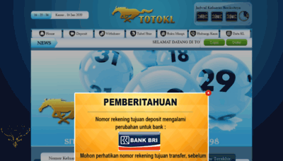 What Totokl.biz website looked like in 2020 (1 year ago)