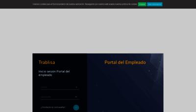 What Trablisa.portaldelempleado.es website looked like in 2020 (1 year ago)