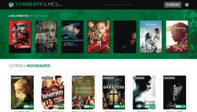 What Torrentfilmes.net website looked like in 2020 (1 year ago)