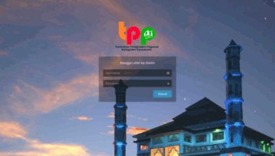 What Tpp.purwakartakab.go.id website looked like in 2020 (This year)