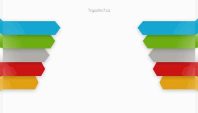 What Trgooltv7.co website looks like in 2021
