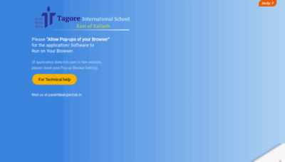 What Tiscampuscare.in website looks like in 2021