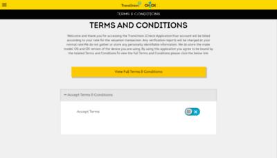 What Tu1check.co.za website looks like in 2021