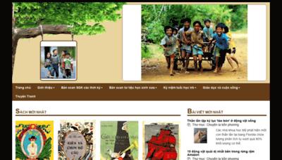 What Thuongmaitruongxua.vn website looks like in 2021