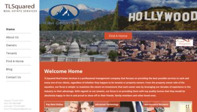 What Tlsquared.net website looks like in 2021
