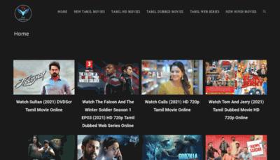 What Tamilarasan.net website looks like in 2021
