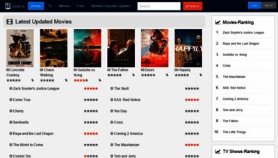 What Tvseries.net website looks like in 2021