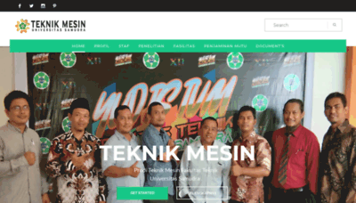 What Tm.unsam.ac.id website looks like in 2021