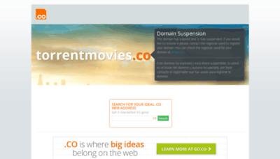 What Torrentmovies.co website looks like in 2021