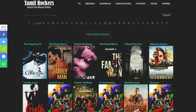 What Tamilrockermovies.me website looks like in 2021