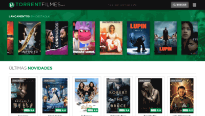 What Torrentfilmes.net website looks like in 2021