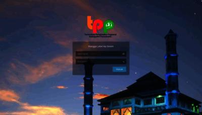 What Tpp.purwakartakab.go.id website looks like in 2021