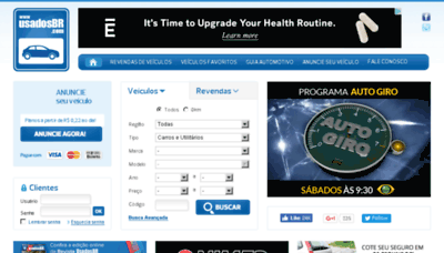 What Usadosgo.com.br website looked like in 2017 (4 years ago)