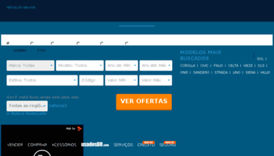 What Usadosgo.com.br website looked like in 2017 (3 years ago)