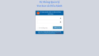 What Ubndmuongkhuong.vnptioffice.vn website looked like in 2019 (2 years ago)