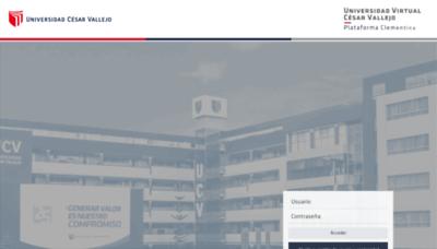 What Uvcv.edu.pe website looked like in 2019 (2 years ago)