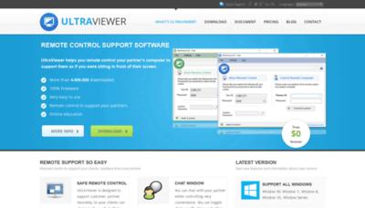 What Ultraviewer.net website looked like in 2019 (2 years ago)