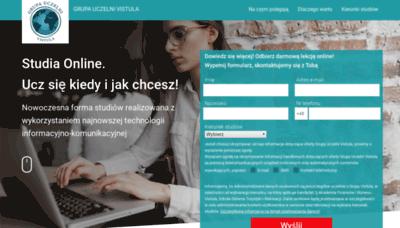 What Usosweb.vistula.edu.pl website looked like in 2019 (2 years ago)