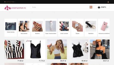 What Underwoman.pl website looks like in 2021