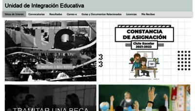 What Uienl.edu.mx website looks like in 2021