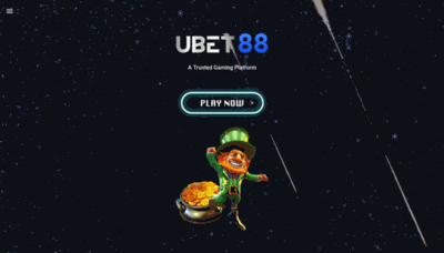What Ubet88.net website looks like in 2021