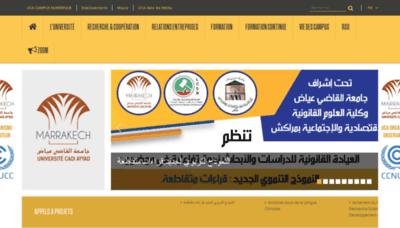 What Uca.ma website looks like in 2021