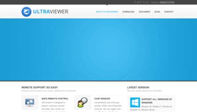 What Ultraviewer.net website looks like in 2021