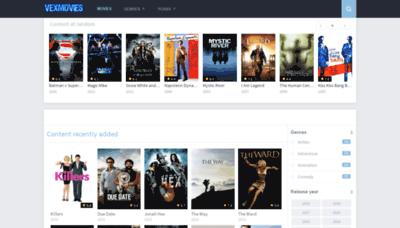 What Vexmovies.space website looked like in 2019 (2 years ago)