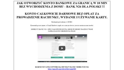 What Vizjer.pl website looked like in 2019 (2 years ago)