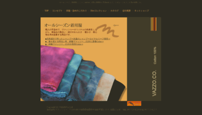 What Vazzo.jp website looked like in 2019 (1 year ago)