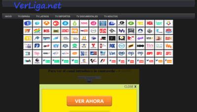 What Verliga1.net website looked like in 2019 (1 year ago)