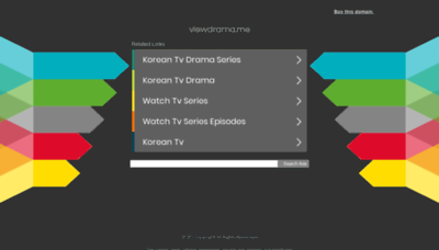 What Viewdrama.me website looked like in 2020 (1 year ago)