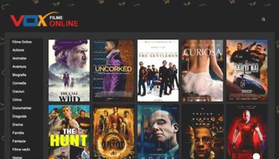 What Voxfilmeonline.biz website looked like in 2020 (1 year ago)