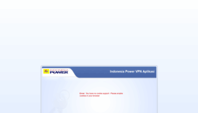 What Vpn.indonesiapower.co.id website looked like in 2020 (1 year ago)