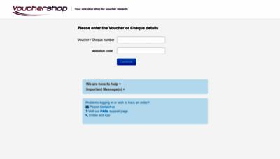 What Vouchershopexchange.co.uk website looks like in 2021
