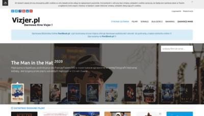 What Vizjer.pl website looks like in 2021