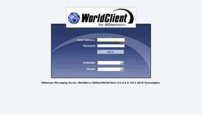 What Webmail.usim.edu.my website looked like in 2011 (9 years ago)