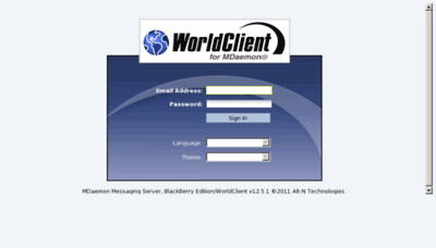 What Webmail.usim.edu.my website looked like in 2012 (8 years ago)