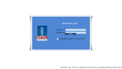 What Webmail.optcl.co.in website looked like in 2013 (7 years ago)