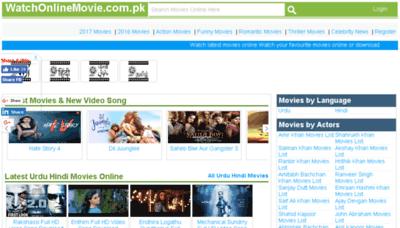 What Watchonlinemovie.com.pk website looked like in 2018 (3 years ago)