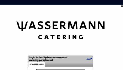 What Wassermann-catering.persplan.net website looked like in 2018 (2 years ago)