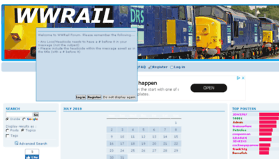 What Wwrail.net website looked like in 2018 (3 years ago)