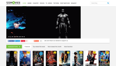 What Www6.123movies.st website looked like in 2018 (2 years ago)