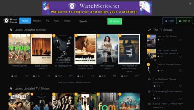 What Watchseries.net website looked like in 2019 (2 years ago)