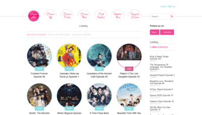 What Www7.ondramanice.co website looked like in 2020 (1 year ago)