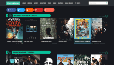 What Watchmovies.today website looked like in 2020 (1 year ago)