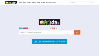 What W4.putlocker.to website looked like in 2020 (1 year ago)